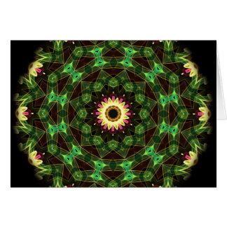 Flower Maze Card
