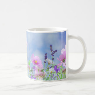 Flower meadow coffee mug