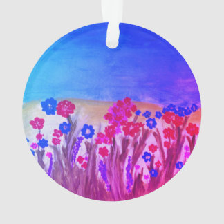 Flower Meadow Ornament