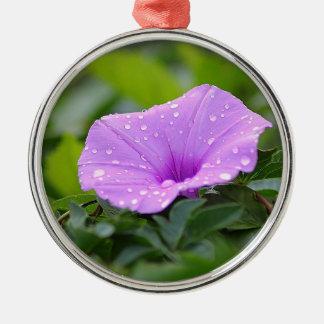 flower metal ornament