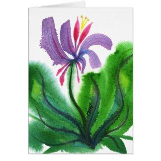 Flower, Mini 002 Card