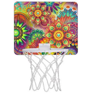 flower mini basketball hoop