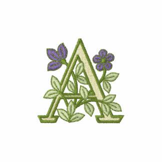 Flower Monogram Initial A