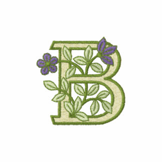 Flower Monogram Initial B
