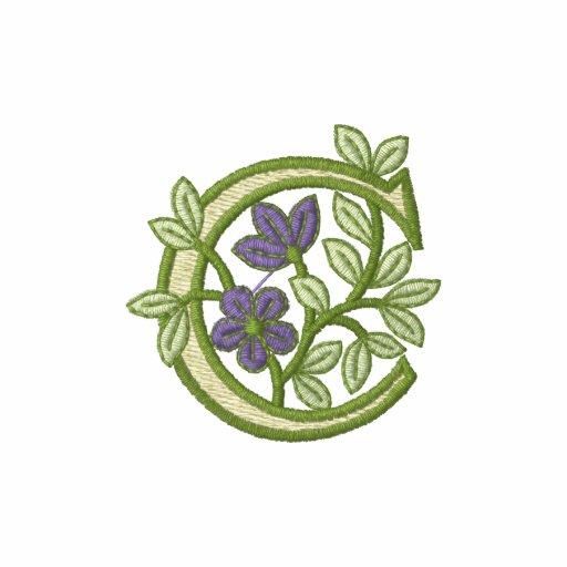 Flower Monogram Initial C