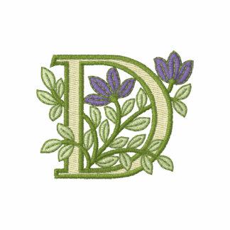 Flower Monogram Initial D