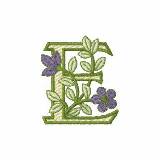 Flower Monogram Initial E