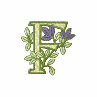 Flower Monogram Initial F