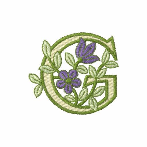 Flower Monogram Initial G