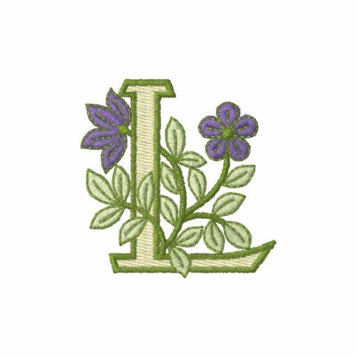 Flower Monogram Initial L