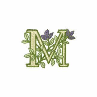 Flower Monogram Initial M