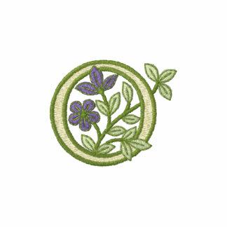 Flower Monogram Initial O