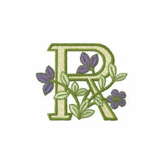 Flower Monogram Initial R