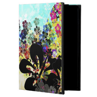 Flower Montage Case For iPad Air
