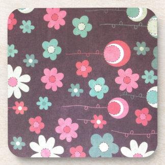 Flower moons coaster