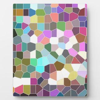 Flower Mosaic Plaque