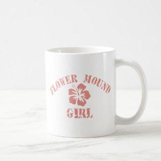 Flower Mound Pink Girl Mug
