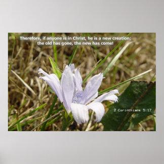 Flower - New Creation Poster