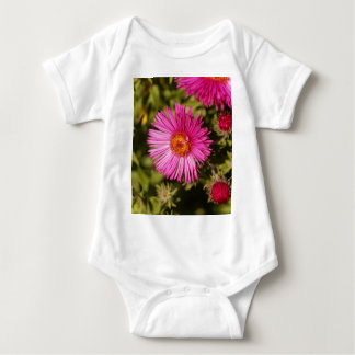 Flower of a New England aster Baby Bodysuit