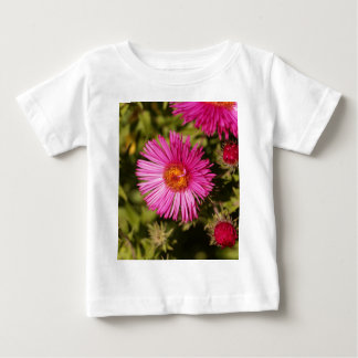 Flower of a New England aster Baby T-Shirt