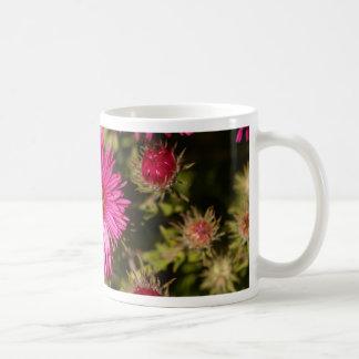 Flower of a New England aster Coffee Mug
