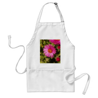Flower of a New England aster Standard Apron