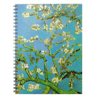 Flower of Almond tree Notebooks