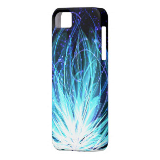 Flower of Blue fire iPhone 5 Cases