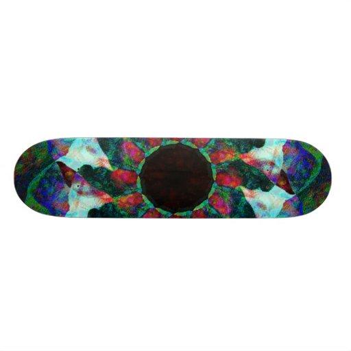 Flower of Death Custom Skate Board