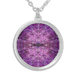 Flower of Life Amethyst Necklaces