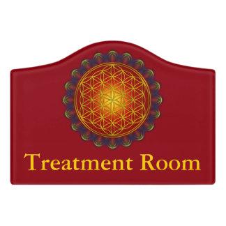 Flower Of Life - Apophysis Mandala I + your ideas Door Sign