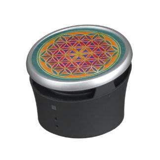 Flower Of Life Blume des Lebens - Button III Bluetooth Speaker
