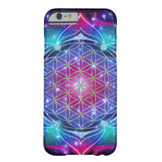 FLOWER OF LIFE/Blume des Lebens Mandala IV Square Barely There iPhone 6 Case