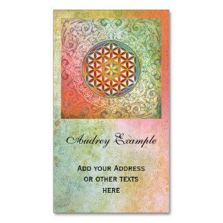 Flower Of Life / Blume des Lebens - Ornament I Magnetic Business Cards