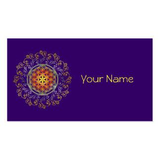 FLOWER OF LIFE / Blume des Lebens - Ornament IV Business Card