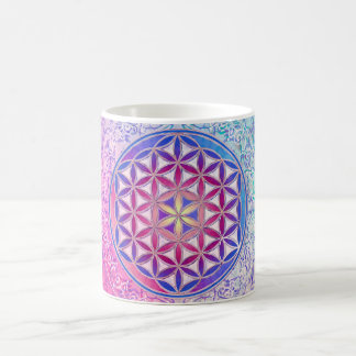 Flower Of Life Blume des Lebens - Ornament V Mug