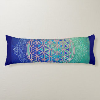 Flower Of Life / Blume des Lebens - Ornament VI Body Cushion