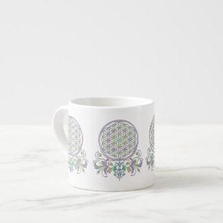 Flower of Life / Blume des Lebens - Ornaments II Espresso Mug