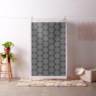 Flower Of Life / Blume des Lebens - stamp white Fabric