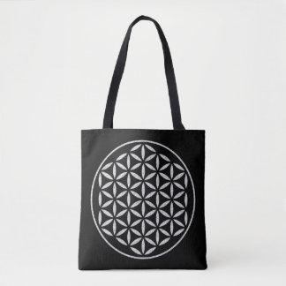 Flower Of Life / Blume des Lebens - stamp white Tote Bag
