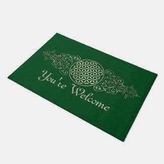 Flower of Life / Blume des Lebens - vintage X Doormat