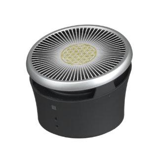 Flower Of Life / Blume des Lebens - white rays Speaker