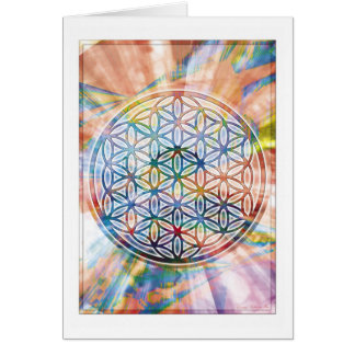 Flower of Life Card