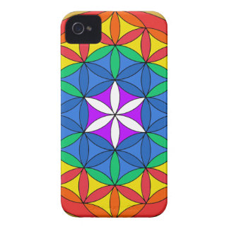 Flower of Life Chakra7 iPhone 4 Case-Mate Case