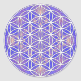 Flower of Life Color 3 Stickers