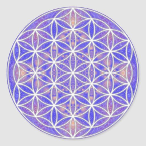 Flower of Life (Color 3) Stickers