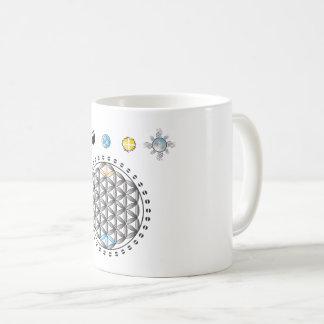 Flower Of Life Divinity In Nature Mug