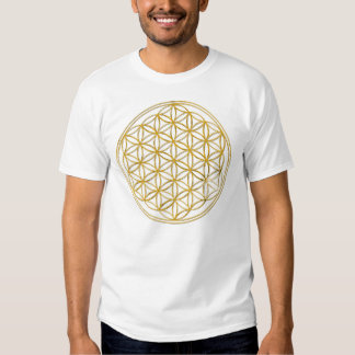 Flower Of Life | gold, big Shirts