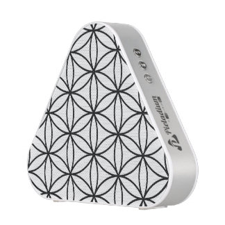 Flower of Life Large Pattern – Black on White