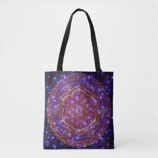 Flower Of Life - Lotus Ornaments ! universe Tote Bag